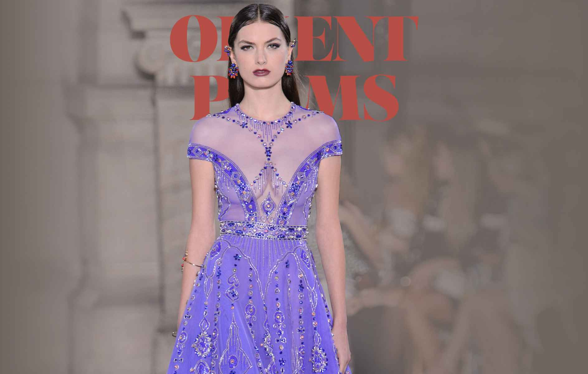 """8f7e235b251 """"Love is a Rebellious Bird"""" Georges Hobeika s Andalusian Couture collection"""